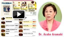 Japanese Prison Menus recreated by Dr. Asaki Aramaki. Preview of Japanese version on click