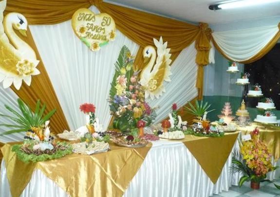 Decoraciones s nchez hnos matrimonios for Decoracion para aniversario