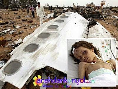 12 Kisah Mukjizat Selamat dari Kecelakaan Pesawat