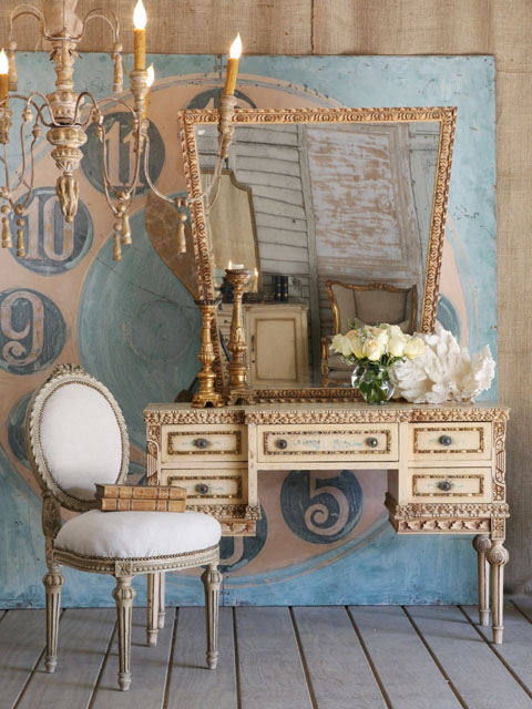 shabby chic decorating with beige and duck egg blue i. Black Bedroom Furniture Sets. Home Design Ideas