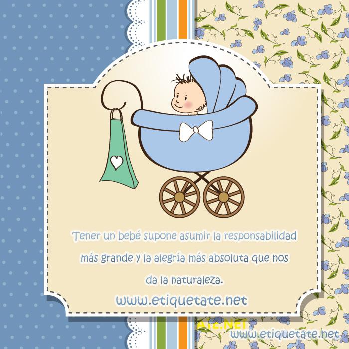 Tener un bebé supone asumir la responsabilidadmás grande y la