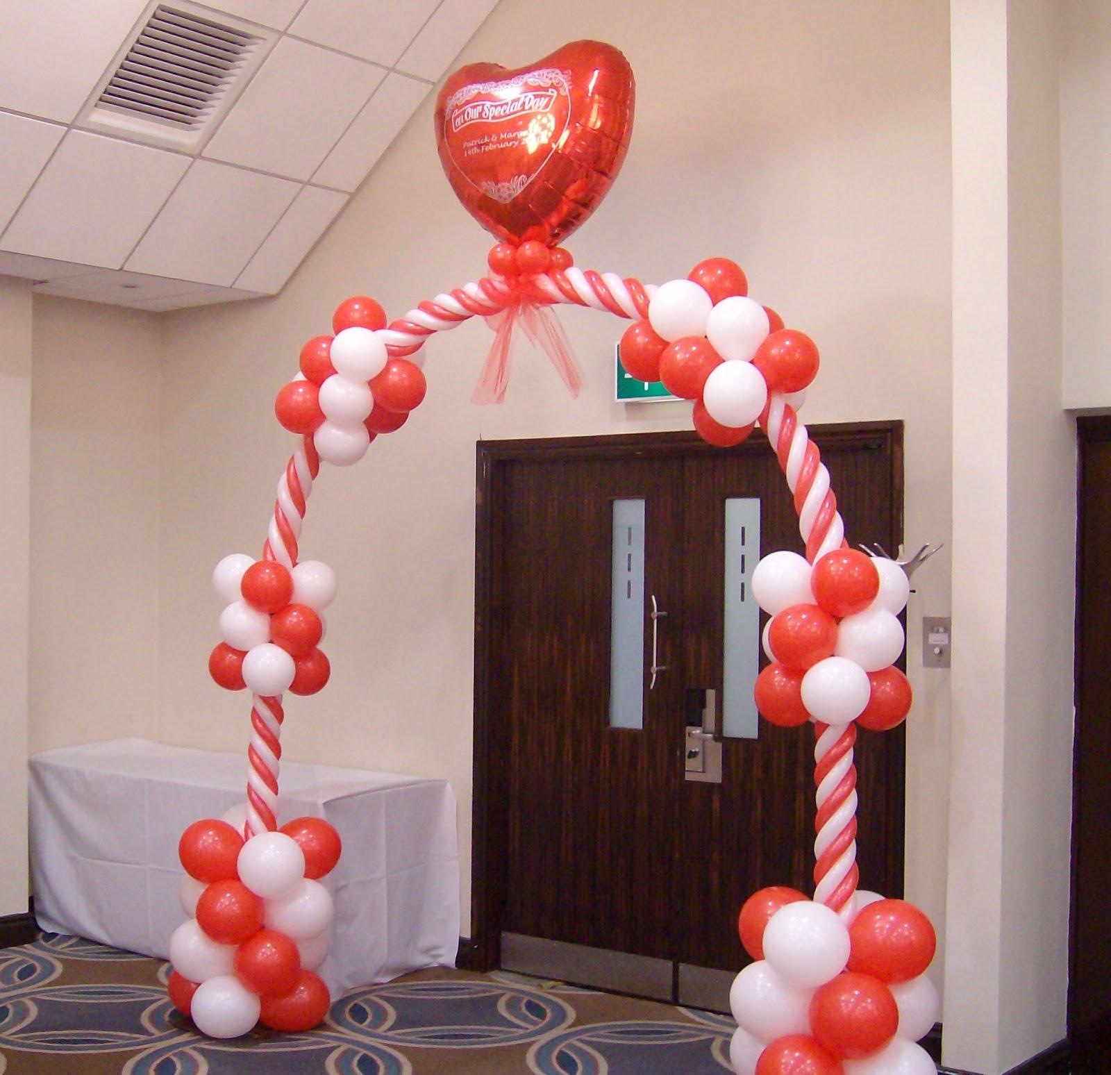 Decoraciones con globos para el dia de los enamorados en - Decoracion en granada ...