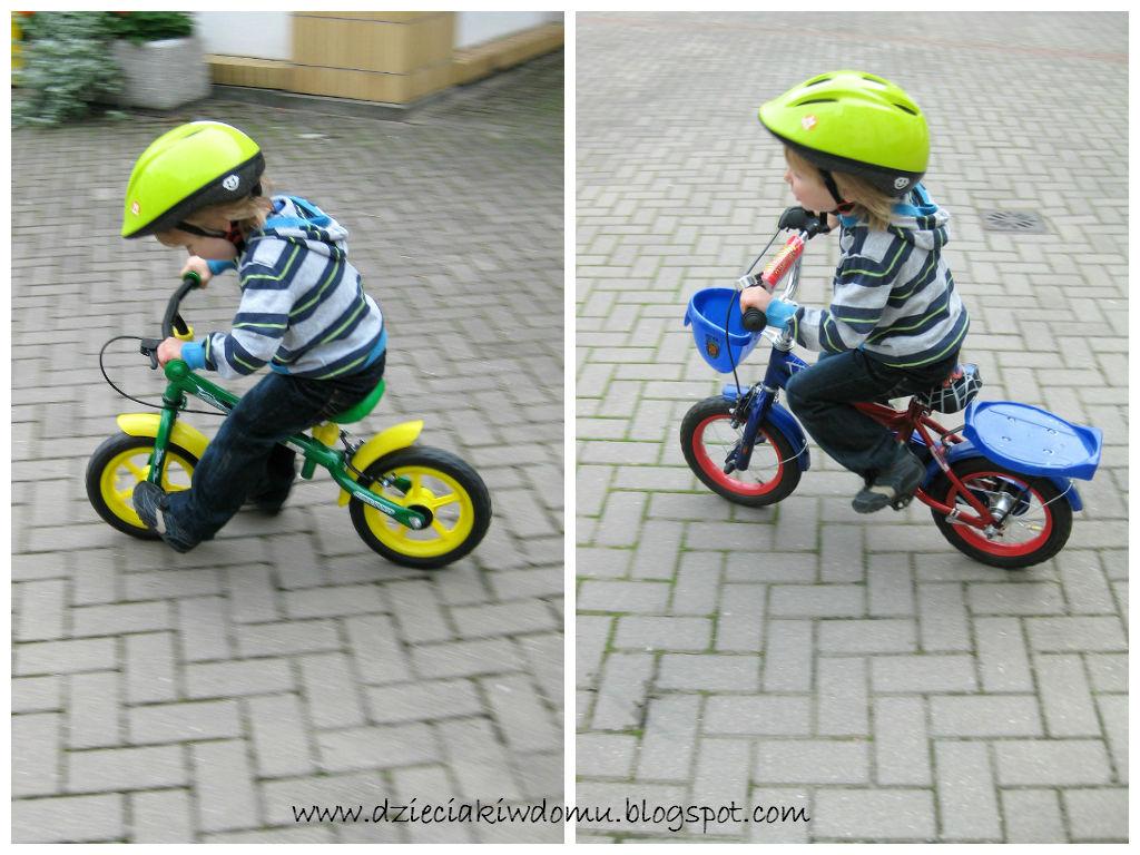 jak nauczyć dziecko jazdy na rowerze na dwóch kółkach