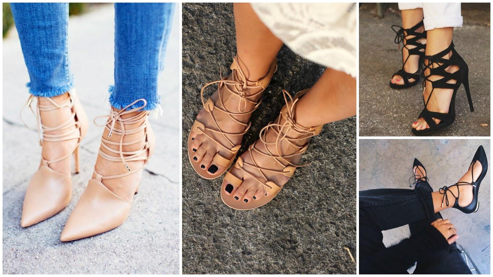 41ddfd40cb De carona na moda!  Trend  Lace up Shoes (Sapatos de Amarrar)