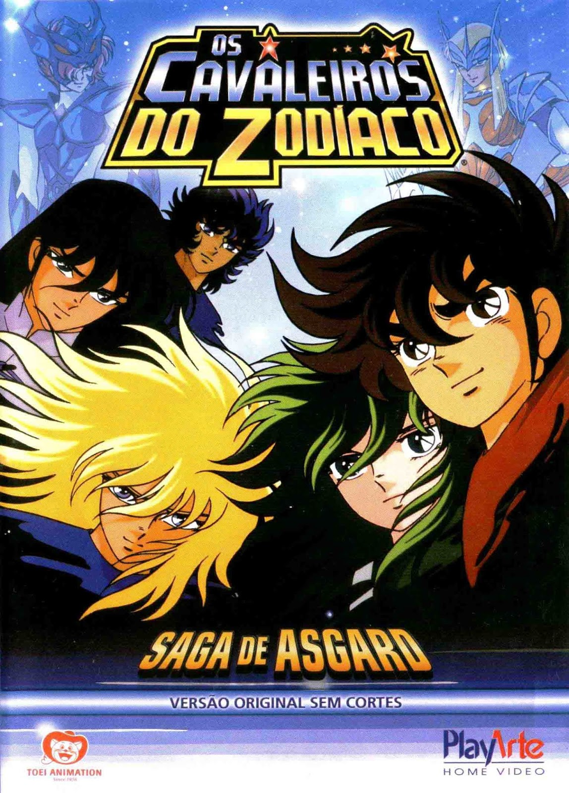 Os Cavaleiros do Zodíaco: Saga de Asgard - Parte 1 Torrent - BluRay 1080p Dual Áudio