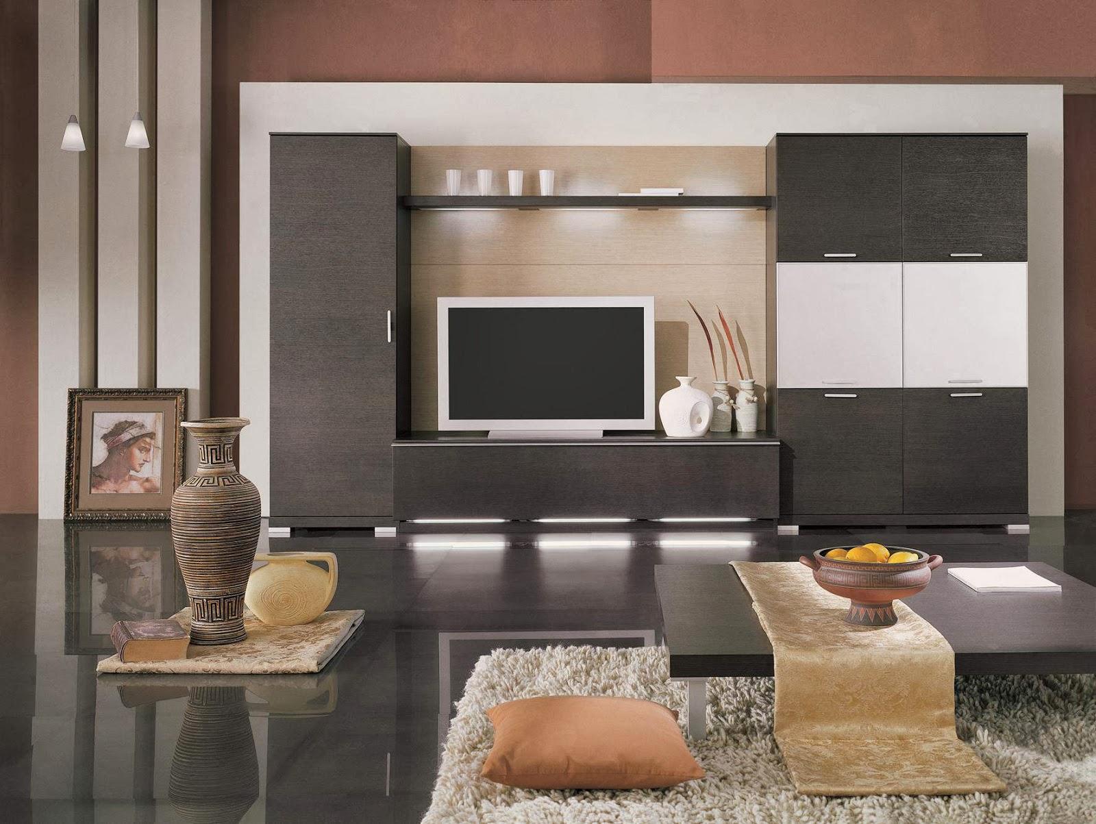 Contoh Karya Desain Ruang Tamu Berbentuk L Terbaru