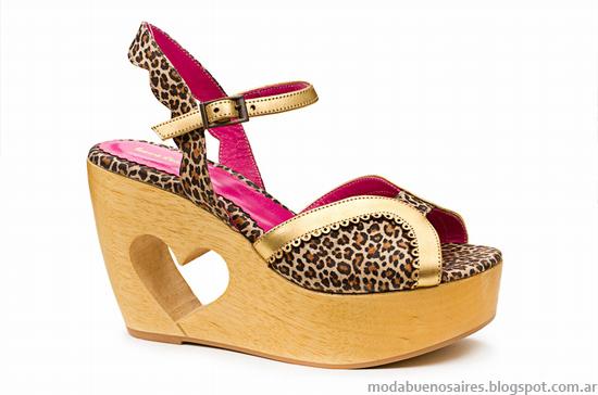 Moda verano 2014 sandalias Laura Constanza.