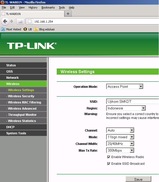 tp link tl wa801nd manual