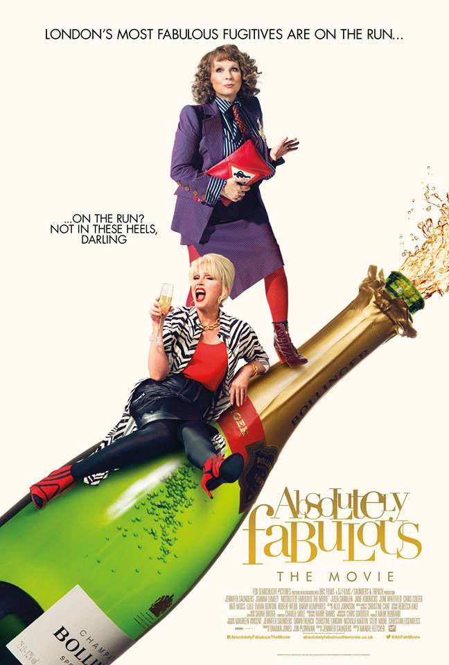 ABSOLUTELY FABULOUS THE MOVIE Starring JOANNA LUMLEY & JENNIFER SAUNDERS