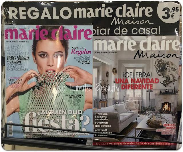 Regalos revistas diciembre 2015: Marie Claire