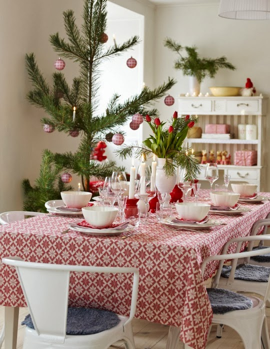 Entre barrancos cocina mesas de desayuno navidad 2013 - Mesas de desayuno ...