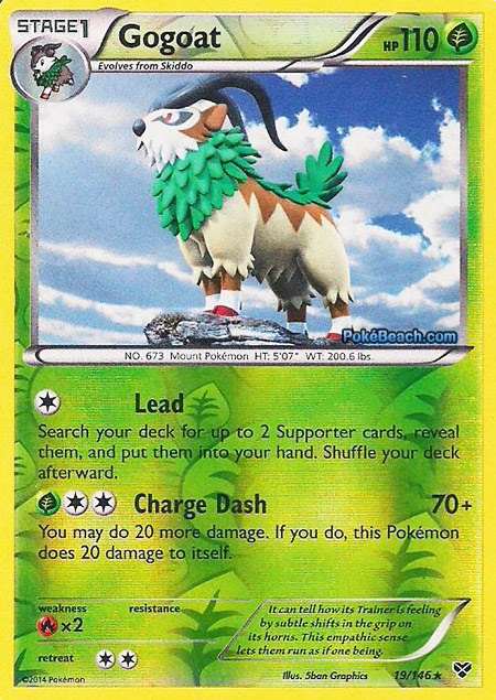 Gogoat -- Pokemon X and Y Card Review | PrimetimePokemon's ...