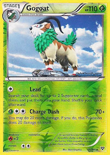 Gogoat Pokemon X and Y Card Review
