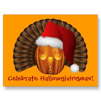 Pumkin Turkey Santa Hat