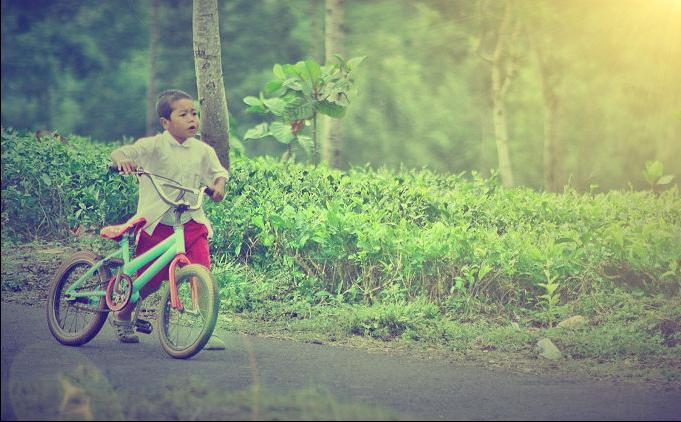 pic cara belajar how to create tutorial photoshop pemula membuat foto anak kecil pedesaan digital imaging 1