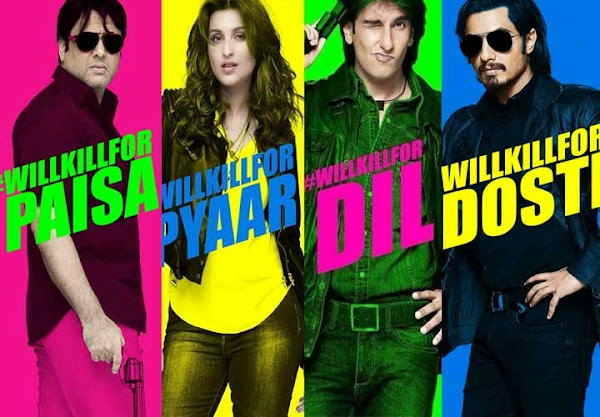 Kill Dil (2014) Movie Poster No. 3