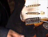 Jimi Hendrix, Fender Stratocaster, Electric Guitar, Burned, Charred,