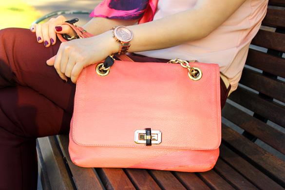 Pink Mouche Handbag
