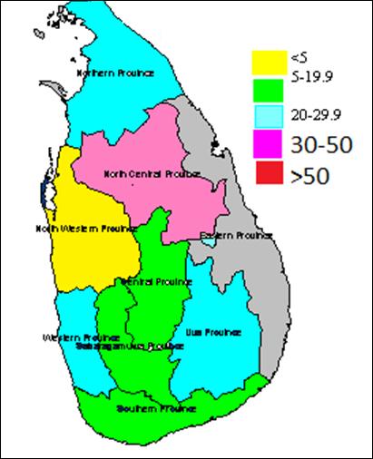 Iodine Deficiency Map