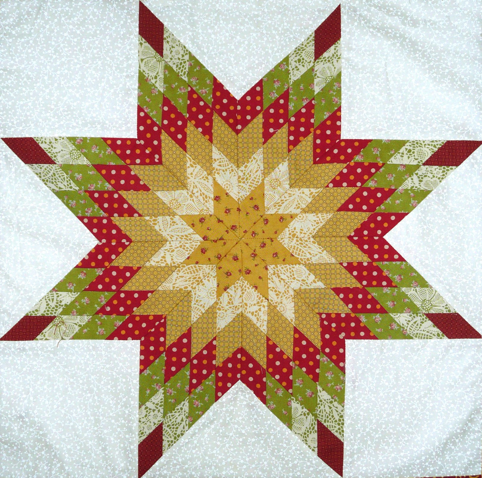 Quilting Pattern For Lone Star : Come Quilt (Sue Garman): Happy Daze!