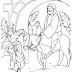 Desenhos Bíblicos de Páscoa para Colorir - Páscoa Cristã