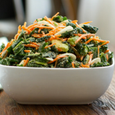 5 Step Raw Kale Salad