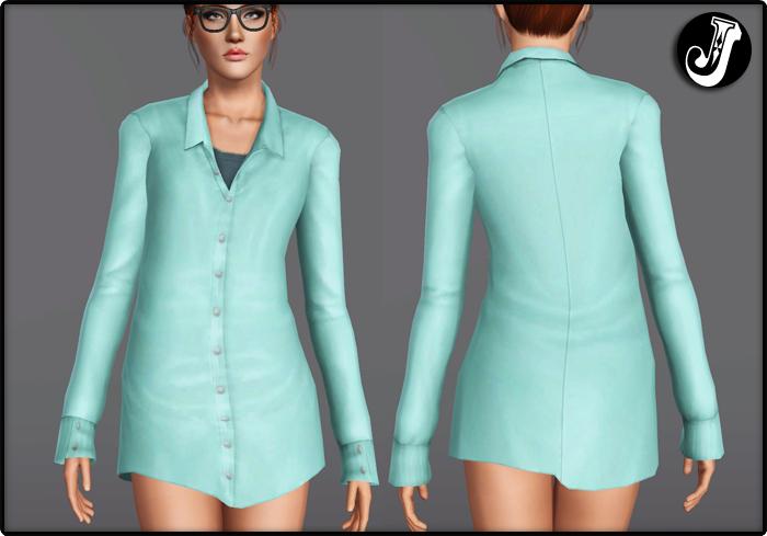 Empire Sims 3 Fix Quot Lithium Quot Coat By Jocker