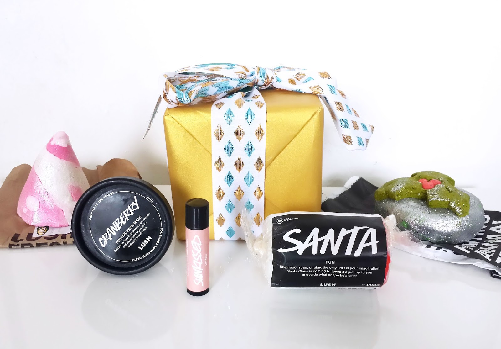 Lush Cardiff Christmas Event