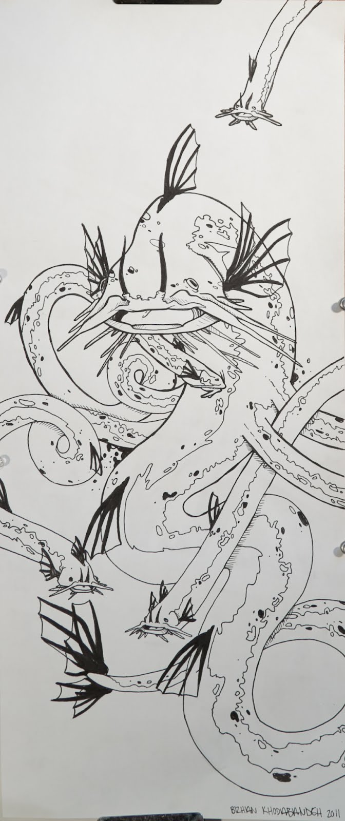 Kraken Monster Drawing Images amp Pictures Becuo