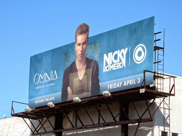 Omnia Nightclub Nicky Romero billboard