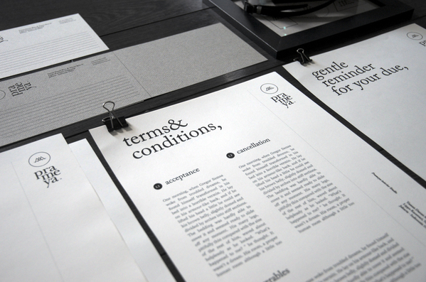 I Love The Styling And Font Especially Like Terms Conditions Gentle Reminder Slips You Can See More Of Sciencewerk Projects Here