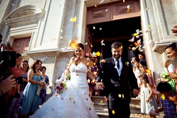 Real wedding Heart Shaped Petals