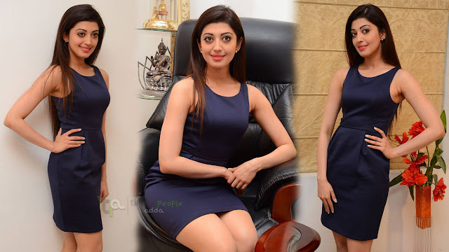 Pranitha Latest Photos At Dynamite Movie Interview