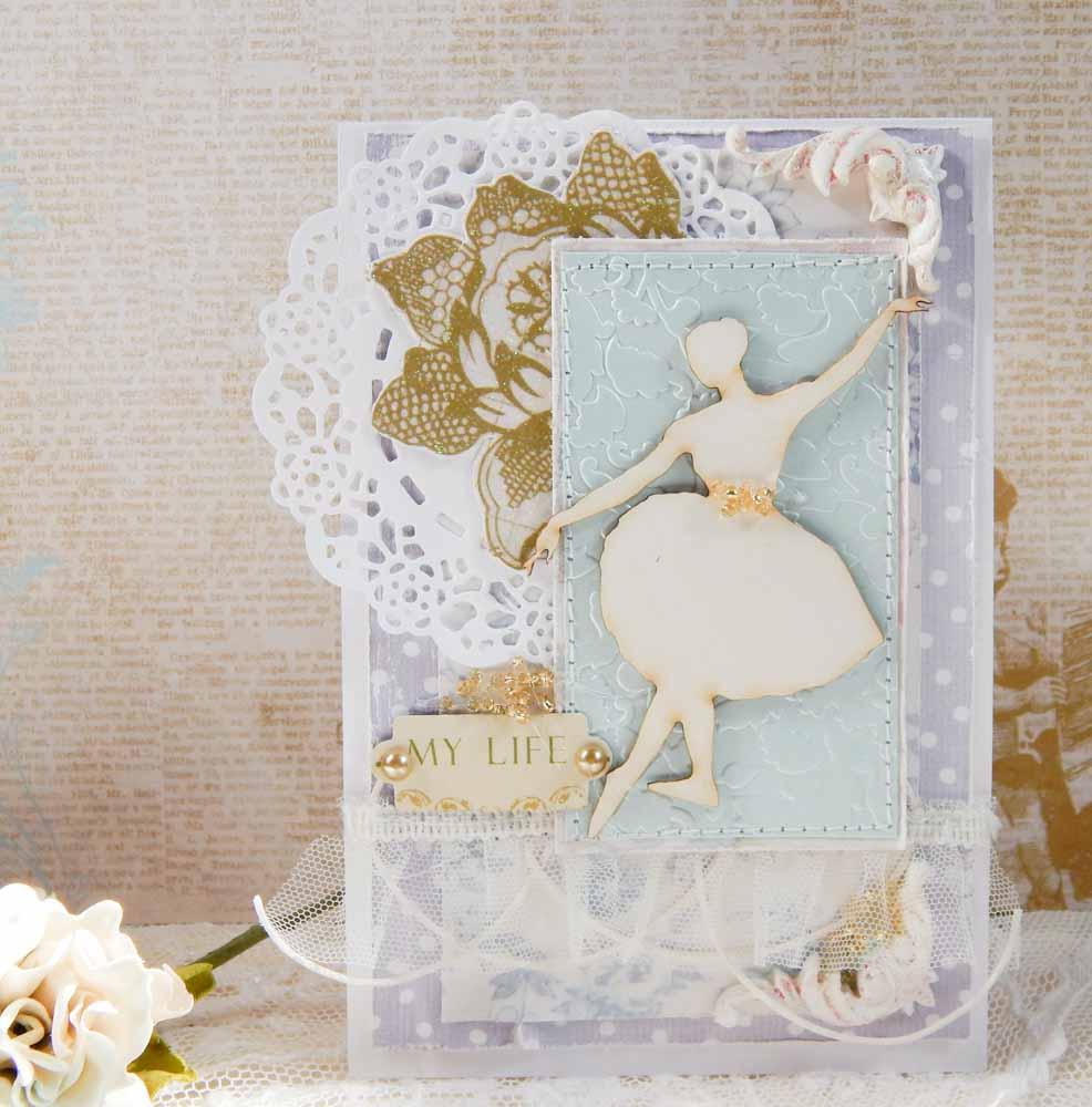 Картинки с балериной для открыток 828