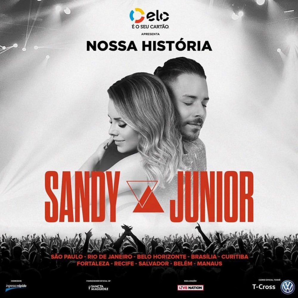 TURNÊ SANDY E JUNIOR