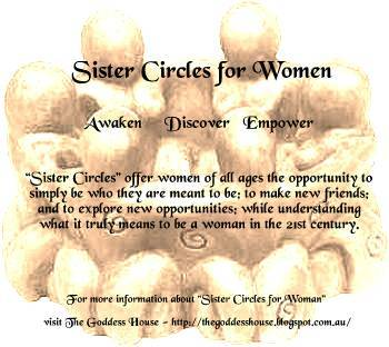 AUGUST: SISTER CIRCLES FOR WOMEN