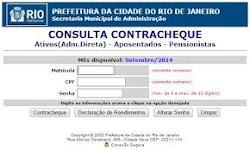 CONTRACHEQUE PREFEITURA DO RIO