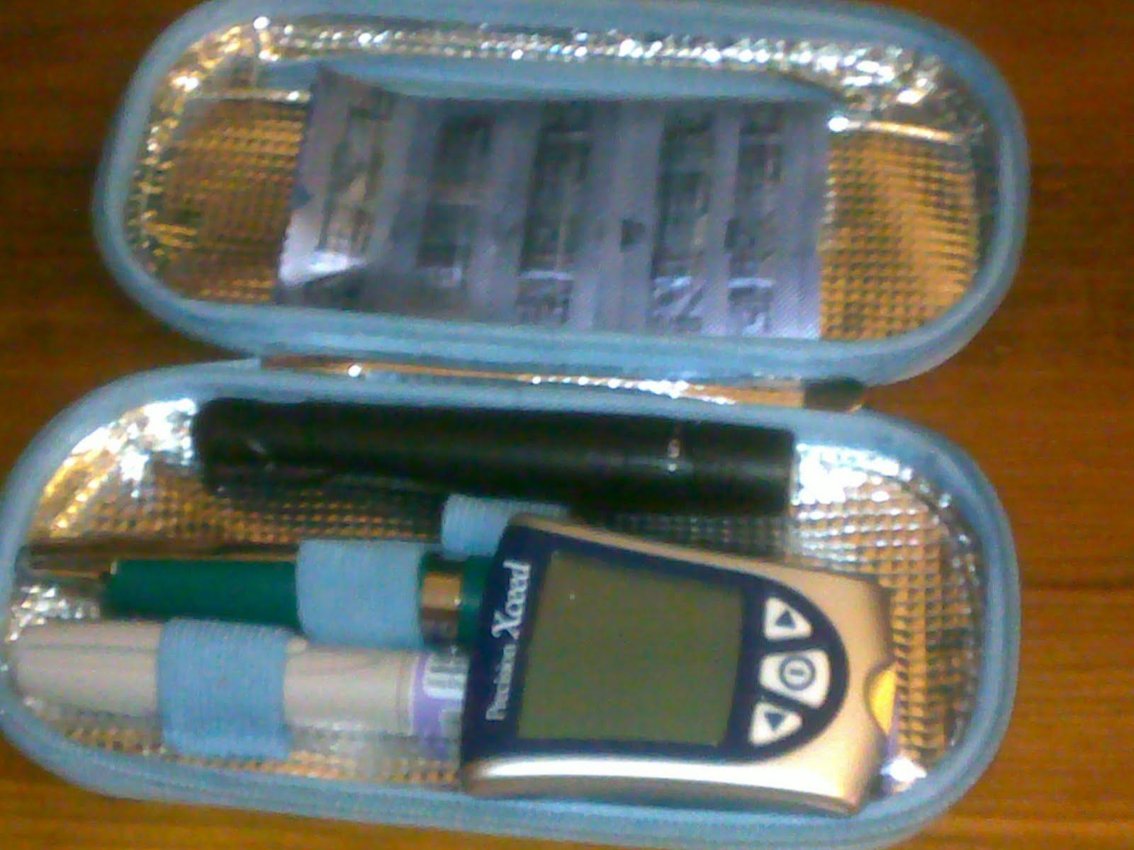 Bolsa Para Transporte De Insulina : Diabetes e depois