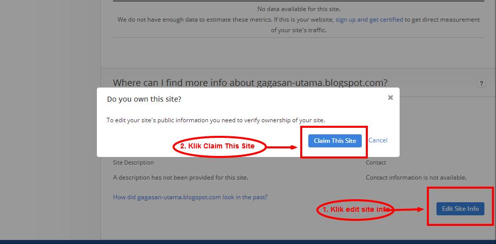 Cara Memasang Widget Alexa Rank Pada Blogger Atau Wordpress