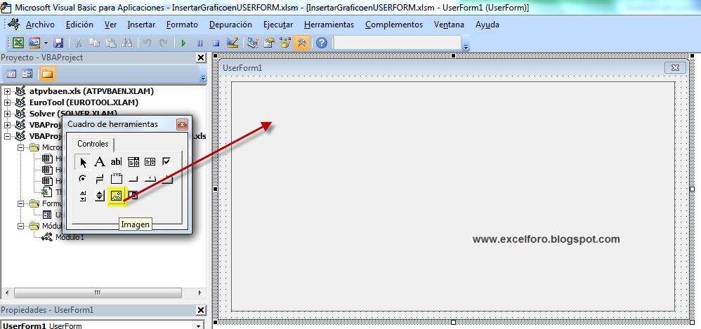 Vba Cargar Un Gr 225 Fico En Un Formulario De Excel Excel