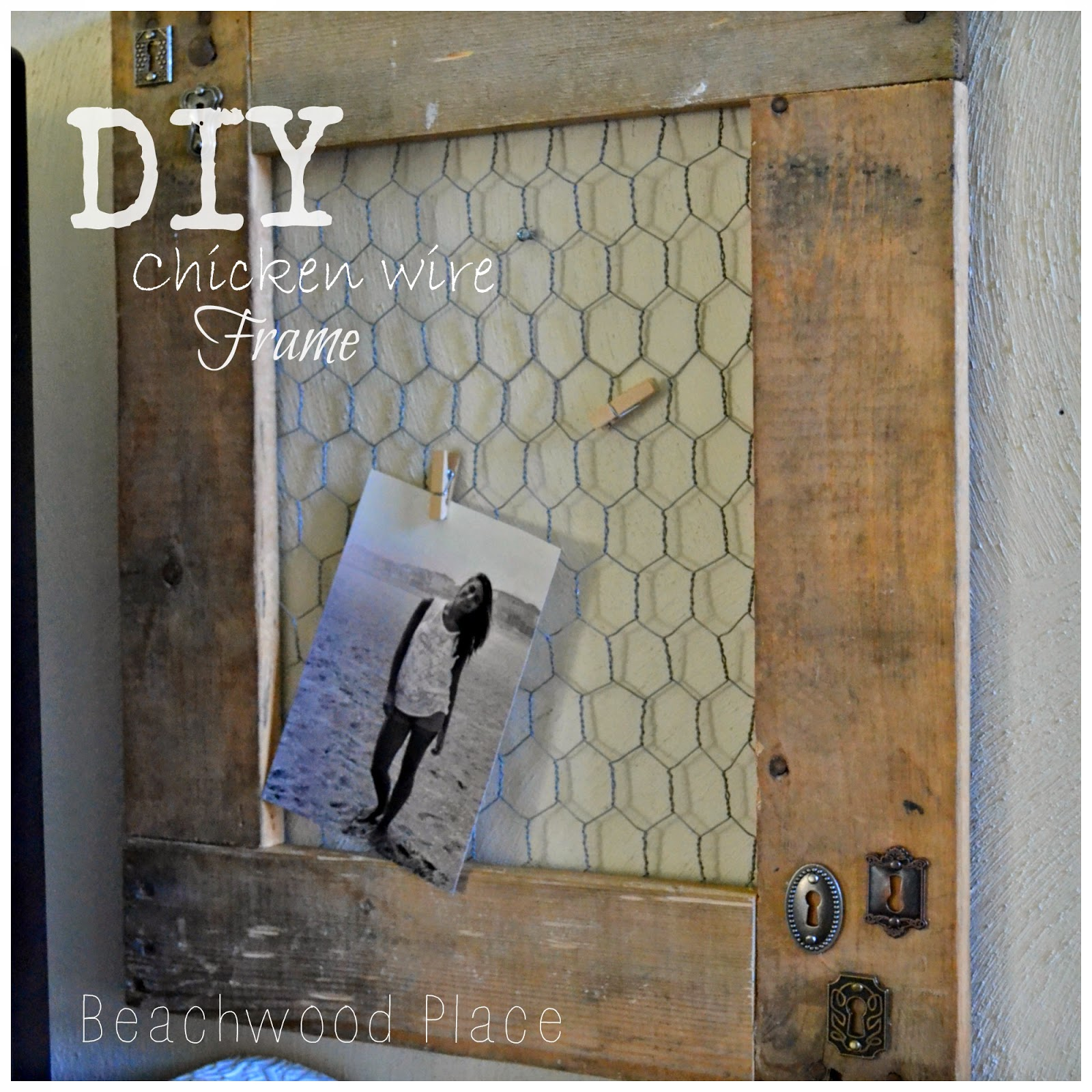 Beachwood Place Diy Chicken Wire Frame