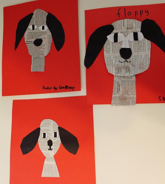 News Print Dogs