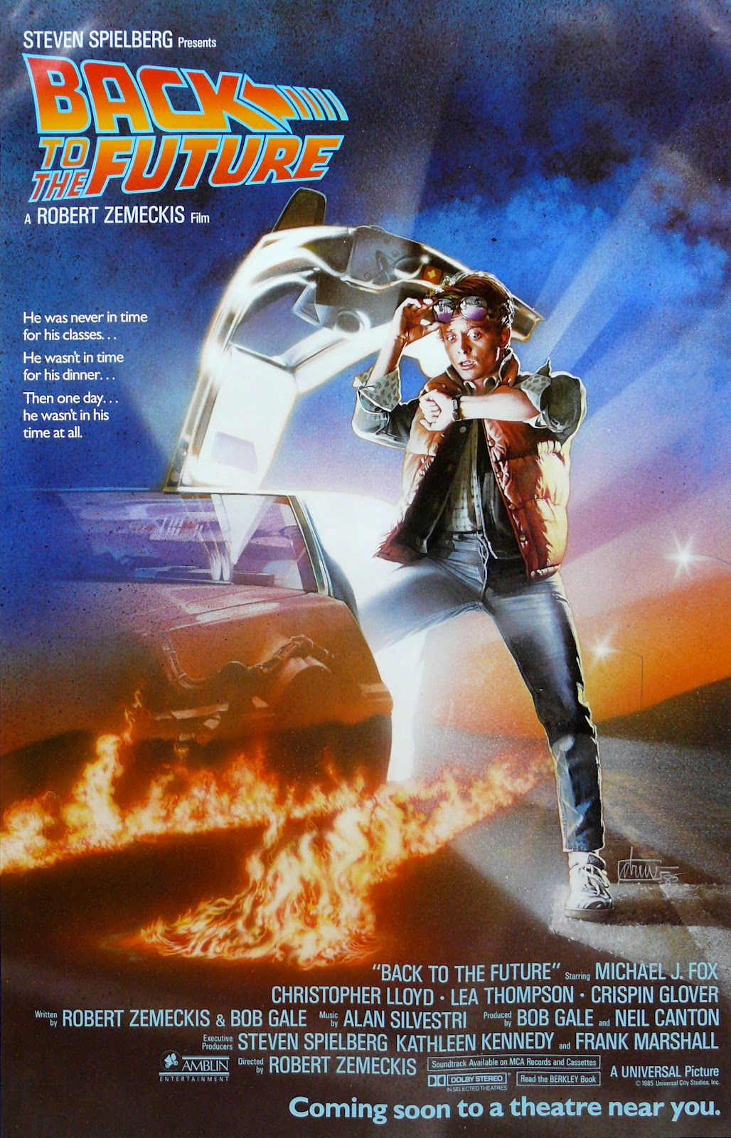 the geeky nerfherder movie poster art back to the future 1985. Black Bedroom Furniture Sets. Home Design Ideas