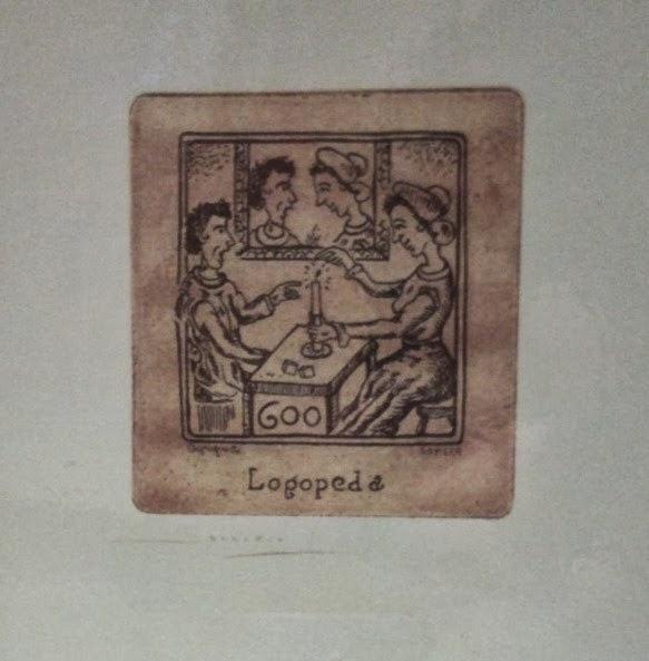 Litografía Logopeda