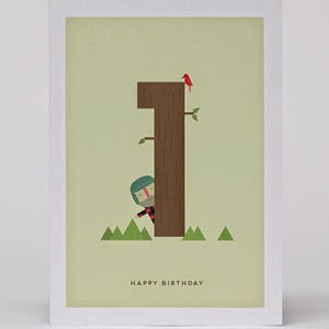 Ma Bicyclette - Buy Handmade - Birthday Cards - 1st Birthday