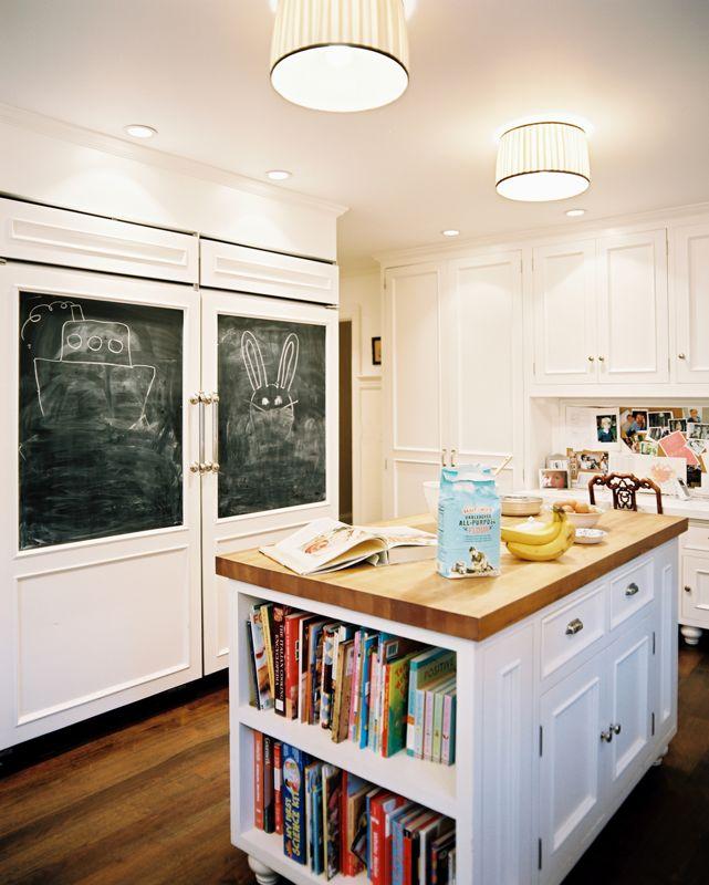 Chalkboard Kitchen Island