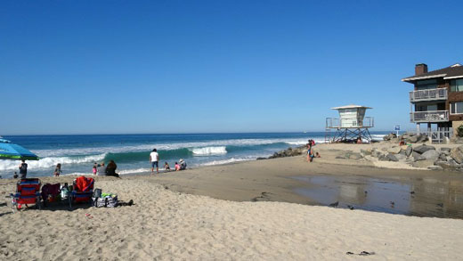 Buccaneer Beach in Oceanside, California by Stacey Kuhns