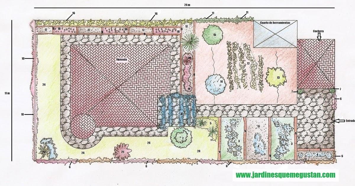 Jardines que me gustan planificaci n y dise o de jardiner a - Disenos de jardineria ...