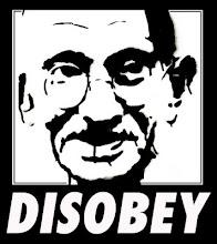 """""""Cuando una ley es injusta, lo correcto es desobedecer"""""""