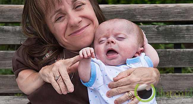 Stacey Herald  dan Anak